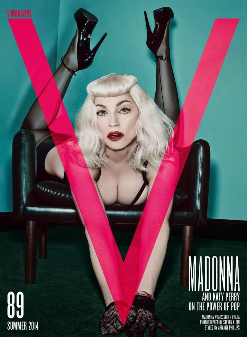 Katy Perry & Madonna for V Magazine Summer 2014 4