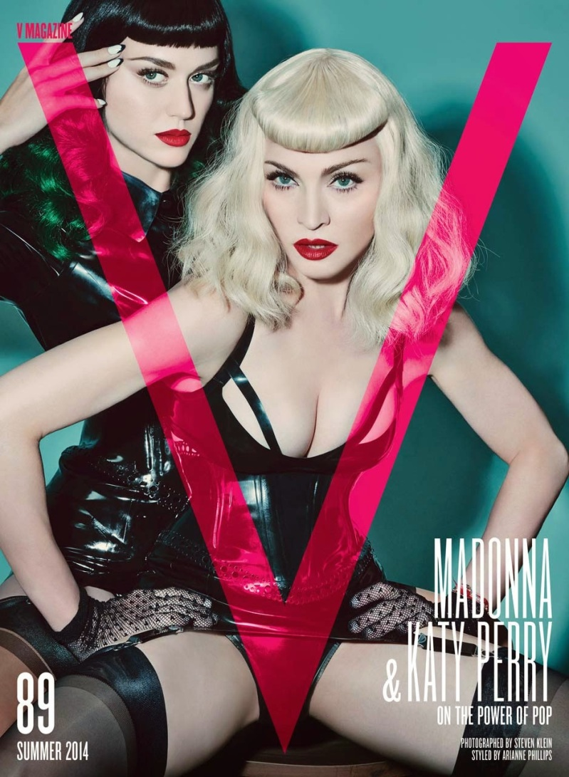 Katy Perry & Madonna for V Magazine Summer 2014