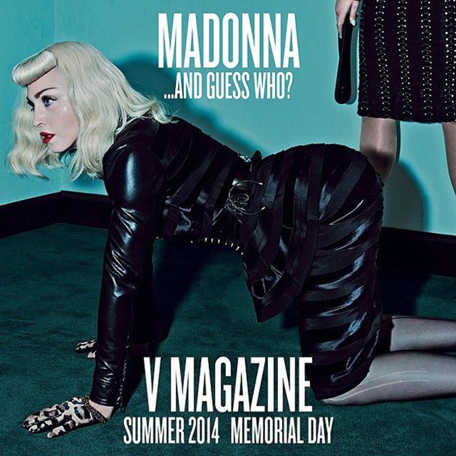 Madonna and Katy Perry for V Magazine Summer 2014