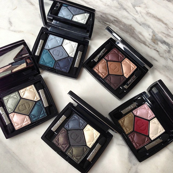 12 new Dior 5 Couleurs Palette for Fall 2014