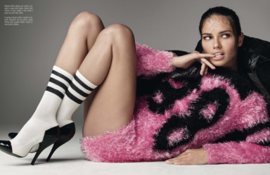 Adriana Lima by Steven Meisel for Vogue Italia June 2014