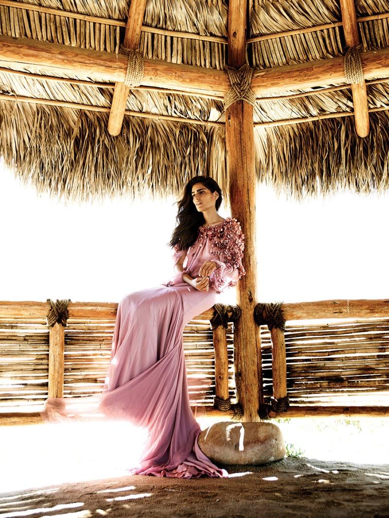 Alejandra Infante for Vogue Mexico June 2014