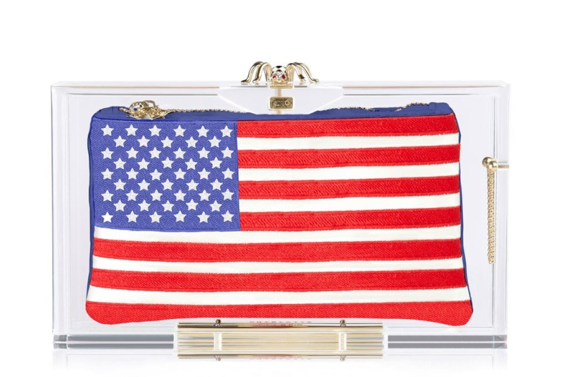 Charlotte Olympia Pandora clutches for World Cup 2014