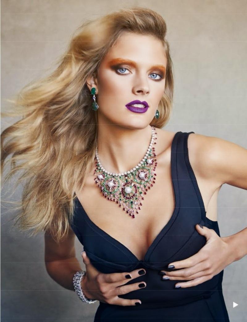 Constance Jablonski for Vogue Spain July 2014