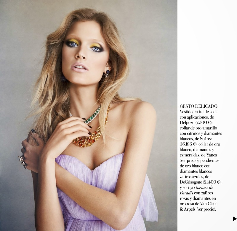 Constance Jablonski for Vogue Spain July 2014