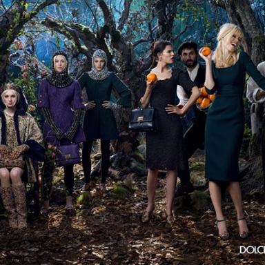 Dolce & Gabbana Fall 2014 ad campaign