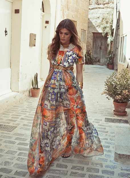 Elisa Sednaoui Dellal for The Edit June 2014