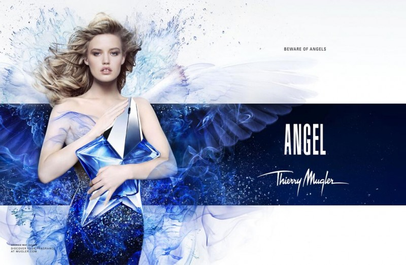 Georgia May Jagger for Angel by Thierry Mugler