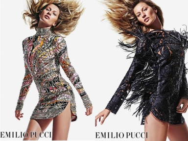 Gisele Bundchen for Emilio Pucci Fall 2014 ad campaign
