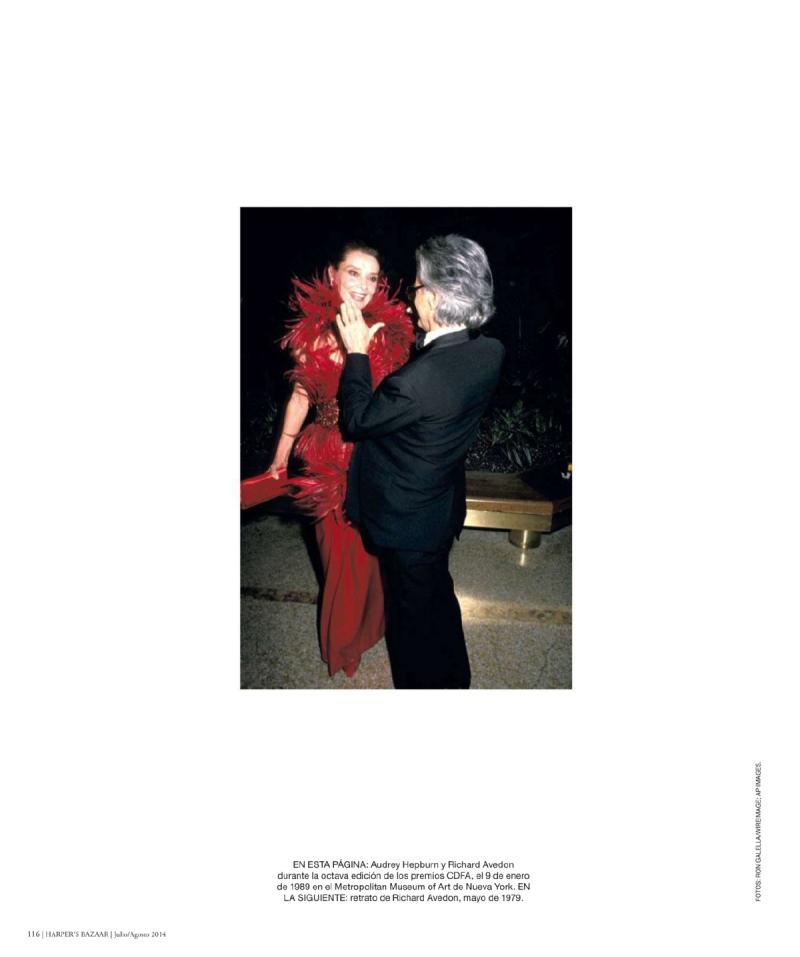 Harper's Bazaar Spain July/August 2014 celebrates Richard Avedon