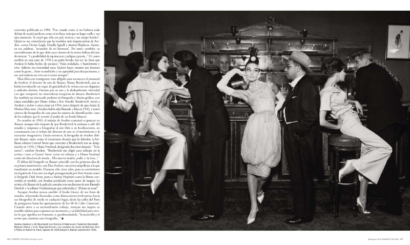 Harper's Bazaar Spain July/August 2014 celebrates Richard Avedon