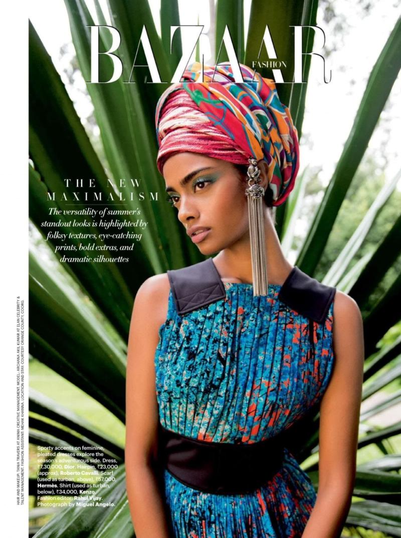 Harper's Bazaar India June 2014