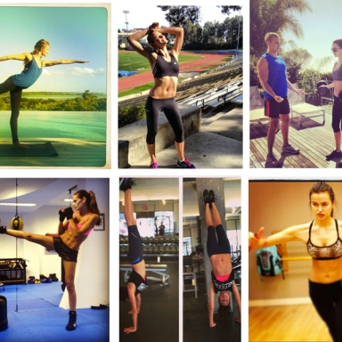 How models are training their bodies