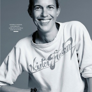 Isabel Marant by Laurent Humbert for Madame Figaro