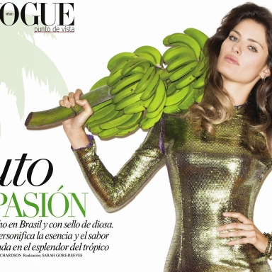 Isabeli Fontana by Terry Richardson for Vogue Mexico June 2014