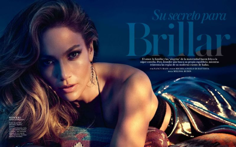 Jennifer Lopez for InStyle Mexico June 2014