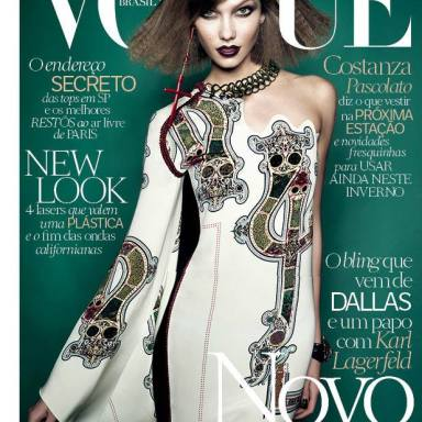 Karlie Kloss covers Vogue Brasil July 2014