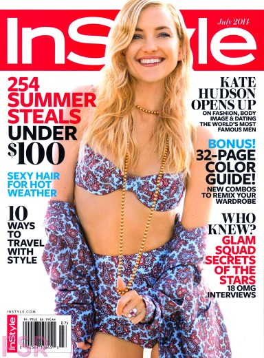Kate Hudson covers InStyle July 2014