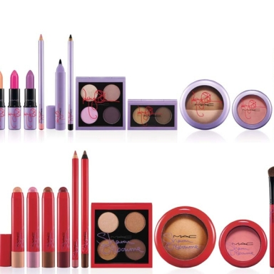 Kelly and Sharon Osbourne for MAC collection