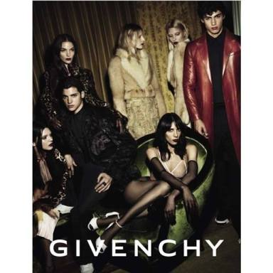 Kendall Jenner for Givenchy Fall 2014 ad campaign.