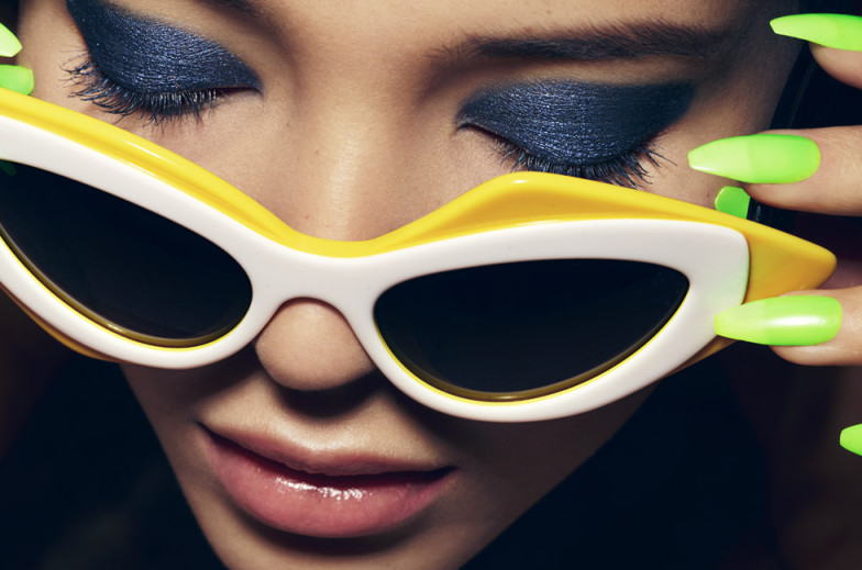 Look for the girl with the sun in her eyes by Rankin for Hunger Magazine