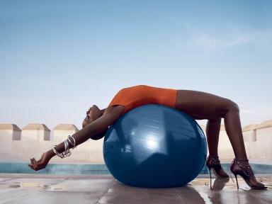 Lupita Nyong'o for Vogue US July 2014