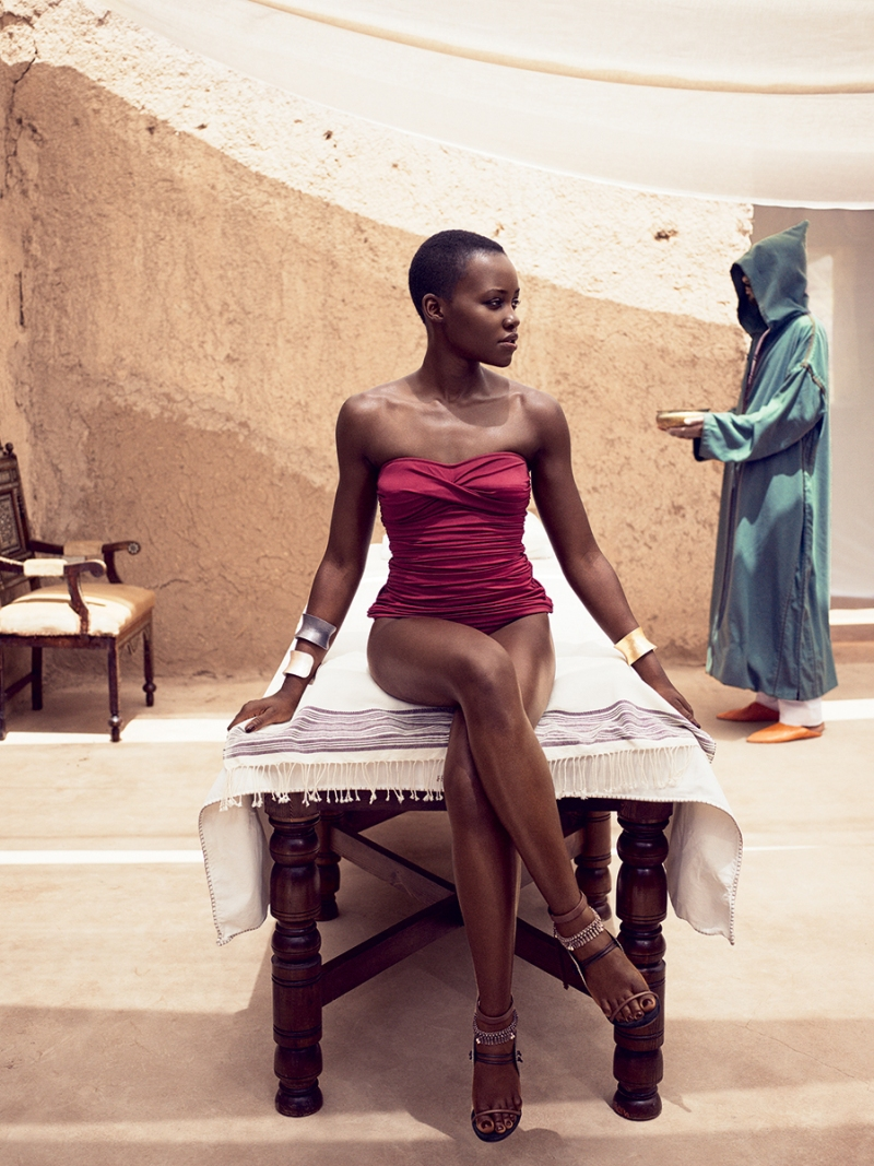 Lupita Nyong'o for Vogue US July 2014