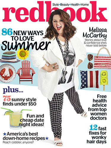 ... McCarthy covers Redbook Magazine July 2014 | the CITIZENS of FASHION