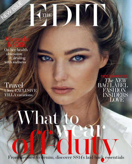Miranda Kerr for The Edit June 2014