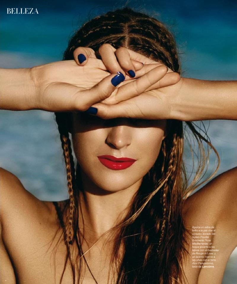 Mirte Maas for Harper's Bazaar Spain July/August 2014