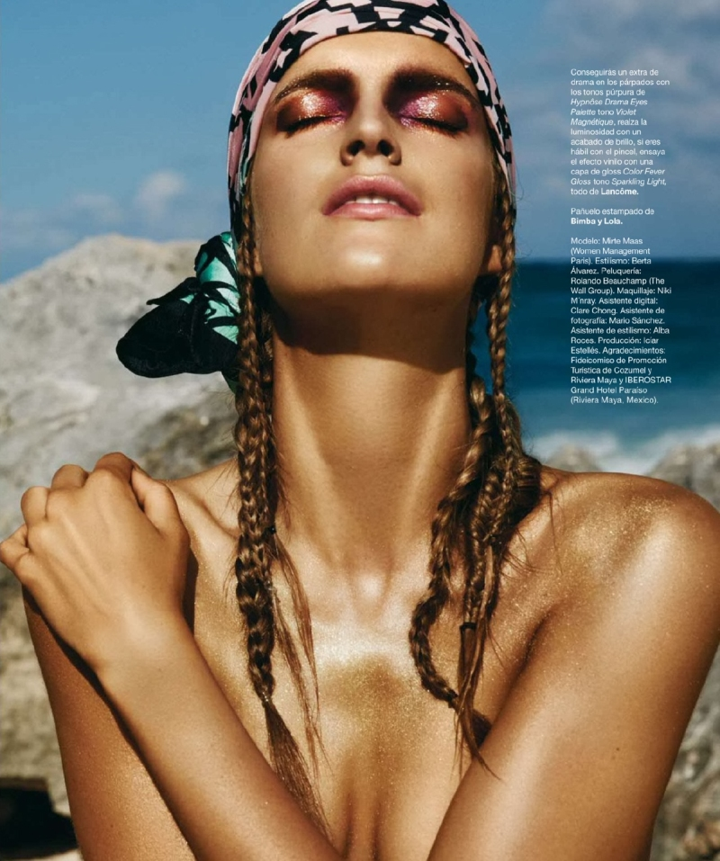 Mirte Maas for Harper's Bazaar Spain July/August 2014