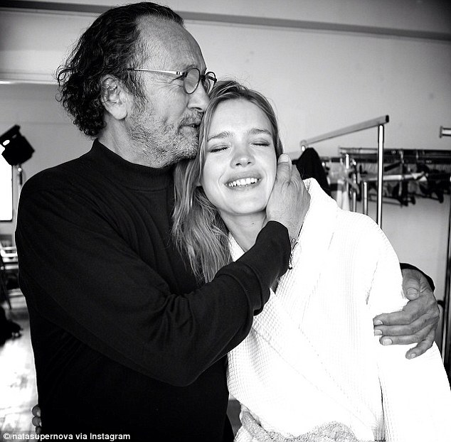 Natalia Vodianova and Paolo Roversi