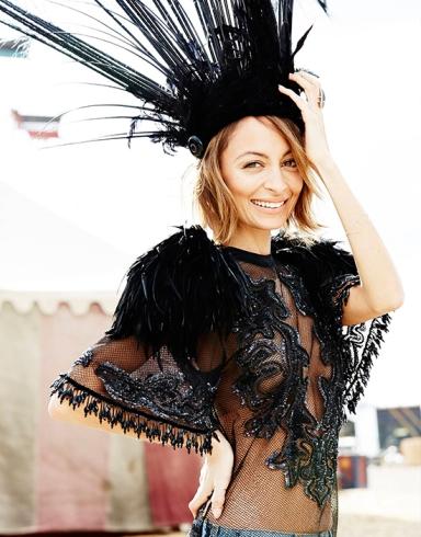 Nicole Richie covers ELLE Australia July 2014