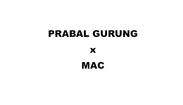 Prabal Gurung x MAC