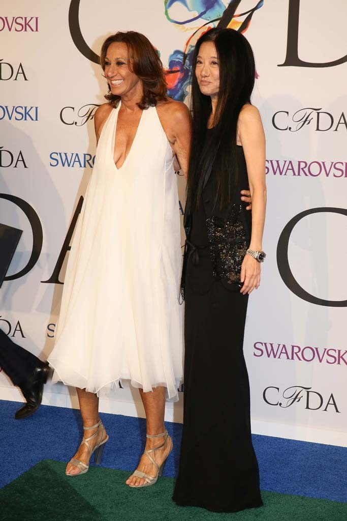 Donna Karan and Vera Wang