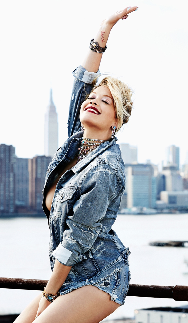 Rita Ora covers Flare August 2014