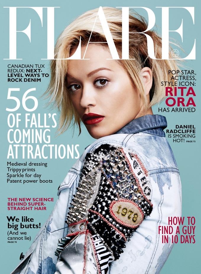 Rita Ora covers Flare August 2014