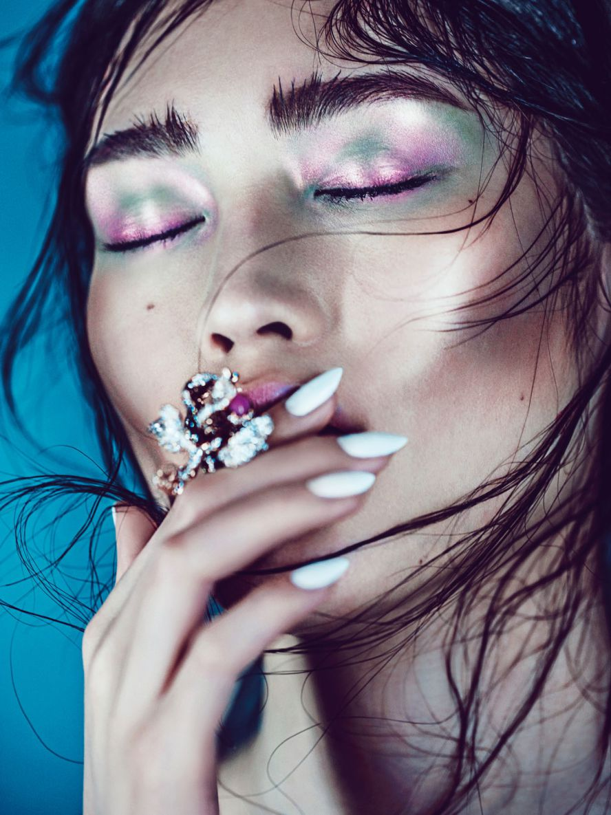 Beauty Story Sui He For Vogue China Collections Pre Fall