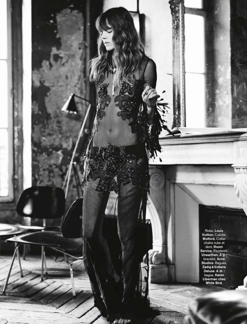 Freja Beha Erichsen for Glamour France August 2014