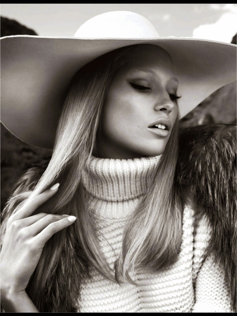 Hana Jirickova for Numéro August 2014