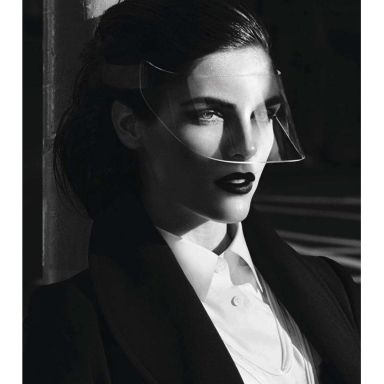 Hilary Rhoda for Vogue Germany August 2014