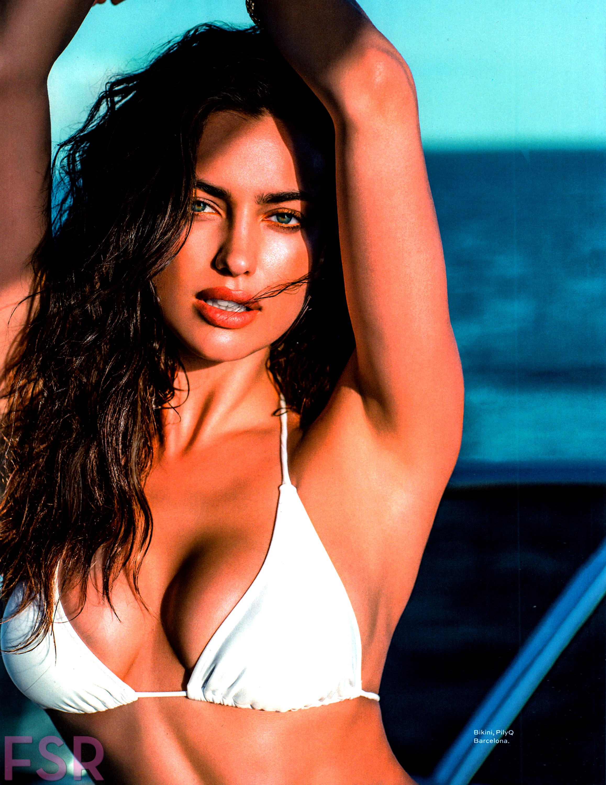 Irina Shayk La Senza Lingerie 2011: Irina Shayk For Maxim July/August 2014