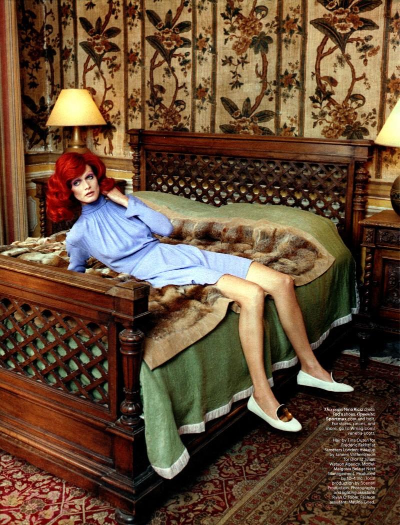 Malgosia Bela for W Magazine August 2014