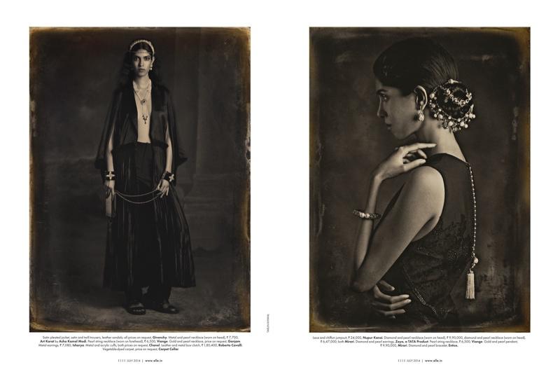 Smita Lasrado for ELLE India July 2014