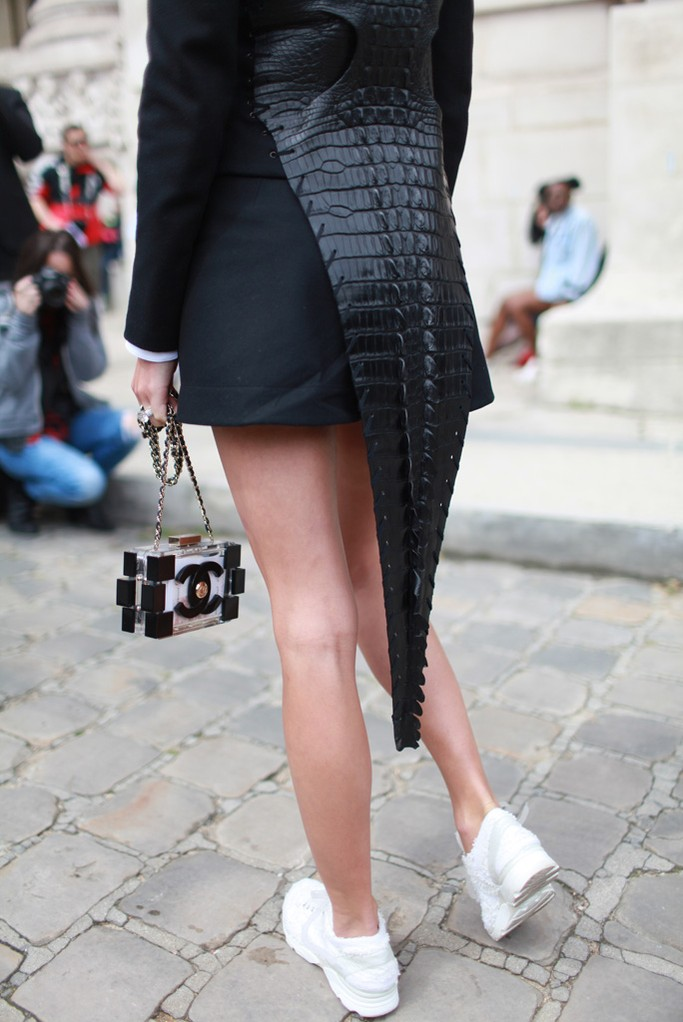 Street Style At Paris Haute Couture Week Fall 2014 Part 2