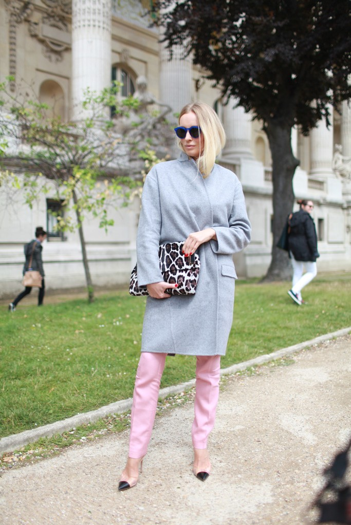 Street Style At Paris Fashion Week Haute Couture Fall Winter 2014 2015 Part 3 The Wonderful