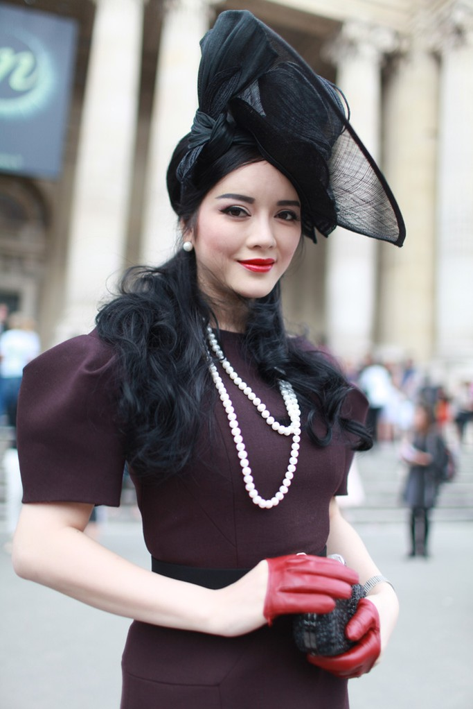 Street Style at Paris Haute Couture Week Fall 2014
