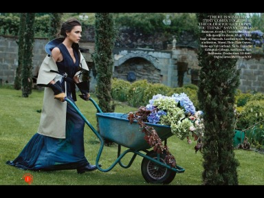 Victoria Beckham by Patrick Demarchelier for Vogue UK August 2014