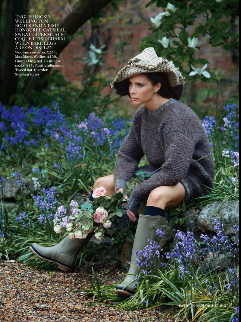 Victoria Beckham by Patrick Demarchelier for Vogue UK August 2014
