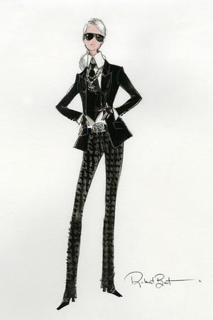 Barbie Lagerfeld Doll